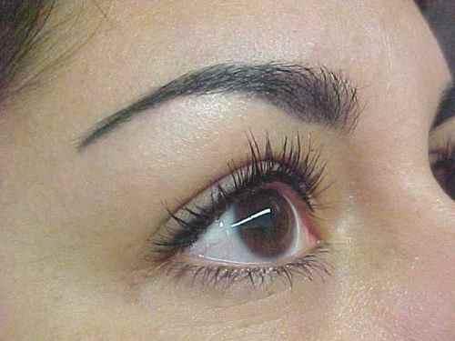 epilation sourcils
